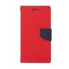Mercury Goospery Mercury Fancy Diary Samsung N920 Galaxy Note 5 kinyitható tok piros-kék