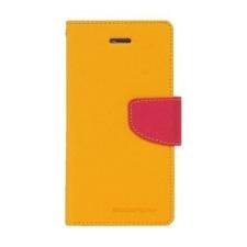 Mercury Goospery Mercury Fancy Diary Samsung P5200 Galaxy Tab 3 10.1 kinyitható tok sárga-sötétpink tok és táska
