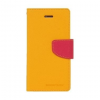 Mercury Goospery Mercury Fancy Diary Sony D6603 Xperia Z3 kinyitható tok sárga-sötétpink