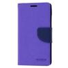 Mercury Goospery Mercury Fancy Diary Sony E6533 Xperia Z4 kinyitható tok lila-kék