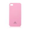Mercury Goospery Mercury Jelly Apple iPhone 4G/4S hátlapvédő pink