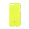 Mercury Goospery Mercury Jelly Apple iPhone 6/6S fluoreszkáló hátlapvédő lime