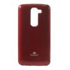 Mercury Goospery Mercury Jelly LG D620 G2 Mini hátlapvédő piros