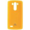 Mercury Goospery Mercury Jelly LG D855 G3 hátlapvédő sárga