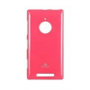Mercury Goospery Mercury Jelly Nokia Lumia 830 hátlapvédő sötétpink