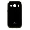 Mercury Goospery Mercury Jelly Samsung G357 Galaxy Ace 4 hátlapvédő fekete