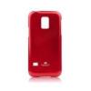 Mercury Goospery Mercury Jelly Samsung G800 Galaxy S5 Mini hátlapvédő piros