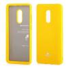 Mercury Goospery Mercury Jelly Samsung N910 Galaxy Note 4 hátlapvédő sárga