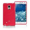 Mercury Goospery Mercury Jelly Samsung N910 Galaxy Note 4 hátlapvédő sötétpink