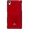 Mercury Goospery Mercury Jelly Sony C6903 Xperia Z1 hátlapvédő piros