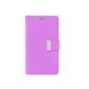 Mercury Goospery Mercury Rich Diary Samsung I9500, I9505 Galaxy S4 kinyitható tok lila-kék