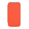 Mercury Goospery Mercury Techno Samsung i9190 Galaxy S4 mini oldalra nyitható tok narancs