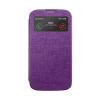 Mercury Goospery Mercury Viva Window Samsung G900F Galaxy S5 oldalra nyitható ablakos tok lila