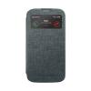 Mercury Goospery Mercury Viva Window Samsung G900F Galaxy S5 oldalra nyitható ablakos tok szürke