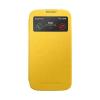 Mercury Goospery Mercury Viva Window Samsung N9000 / N9005 Galaxy Note 3 oldalra nyitható ablakos tok sárga