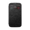 Mercury Goospery Mercury Viva Window Samsung N910 Galaxy Note 4 oldalra nyitható ablakos tok fekete