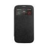 Mercury Goospery Mercury Wow Bumper Samsung A700 Galaxy A7 ablakos kinyitható tok fekete