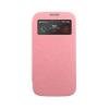 Mercury Goospery Mercury Wow Bumper Samsung G313 Galaxy Trend 2 Duos ablakos kinyitható tok pink