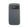 Mercury Goospery Mercury Wow Bumper Samsung G313 Galaxy Trend 2 Duos ablakos kinyitható tok szürke