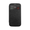 Mercury Goospery Mercury Wow Bumper Samsung G920 Galaxy S6 ablakos kinyitható tok fekete