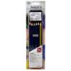 Metálfényű ceruza készlet, gyurmaradírral elegáns fémdobozban - Royal - 8db-os készlet
