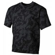 MFH álcázó trikó night camo minta, 170g/m2