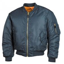 MFH MA1 bomber pilot dszeki, kék férfi kabát, dzseki