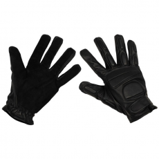 MFH Widlle fekete párnázott bőrkesztyű