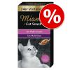 Miamor Cat Confect gazdaságos csomag 24 x 15 g - Malátakrém & sajt