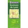 MICHELIN Lyon környéke térkép - Michelin 110