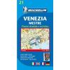 MICHELIN Velence térkép - Michelin 21
