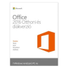 Microsoft Office 2016 Home & Student for Win (1 User) Medialess P2, Magyar (79G-04634)
