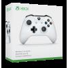 Microsoft Xbox One Wireless Controller White 3,5mm-es jack csatlakozóval (fehér színű kontroller) (Xbox One)