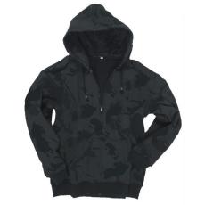 Mil-Tec kapucnis pulóver, black camo