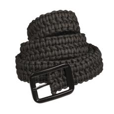 Mil-Tec opasok paracord 4cm, čierny