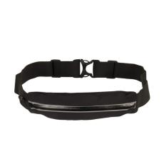 Mil-Tec pénztárca, övvel LYCRA® keskeny, cipzárral Fekete
