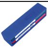 MILAN Táblafilc készlet táblatörlővel MILAN, vékony test, gömb hegy, mágneses táblatörlő, kék + fekete + piros + zöld színű filc