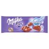 Milka Bubbly alpesi tejcsokoládé levegőbuborékos tejcsokoládé töltelékkel 90 g