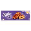 Milka Cake & Choc piskóta alpesi tejcsokoládé darabkákkal és csokoládés töltelékkel 5 db 175 g