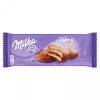Milka Choc&Choc alpesi tejcsokoládéval mártott piskóta 150 g kakaós töltelékkel