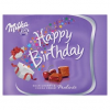 Milka Happy Birthday meggyízű alpesi tejcsokoládé praliné kakaós krémmel & meggyes töltelékkel 110 g