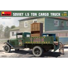 MiniArt 1/35 Soviet 1.5 ton Cargo Truck katonai jármű modell rc modell kiegészítő