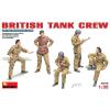MiniArt BRITISH TANK CREW figura makett MiniArt 35078