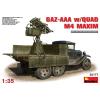 MiniArt GAZ-AAA s/Quad M-4 Maxim katonai jármű makett Miniart 35177