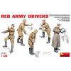 MiniArt Red Army Drivers figura makett Miniart 35144