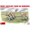 MiniArt - Soviet Artillery Crew on Maneuver