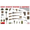MiniArt Soviet Infantry Weapons and Equipment makett MiniArt 35102