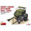 MiniArt SOVIET LIMBER 52-R-353M Mod. 1942 makett MiniArt 35115