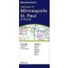 Minneapolis, St. Paul & Vicinity, MN térkép - Rand McNally