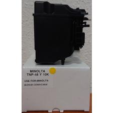 Minolta MINOLTA C3350/3850 toner Yellow TNP48Y ECOPIXEL (For Use) nyomtatópatron & toner
